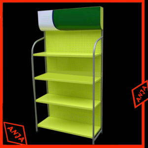 Wooden Retail Shoe Display Shelf Store Shelving Display Units pictures & photos