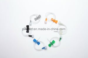 Disposable Scalp Vein Set, PVC pictures & photos