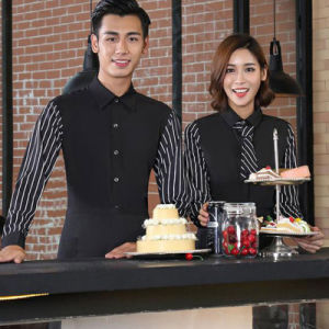 Hotel Waiter Uniform Hotel Receptionist Bellboy Uniform for Hotel pictures & photos