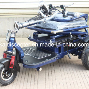 Smart Foldable 3 Wheels Handicapped Electric Scooter Ce Certificated pictures & photos