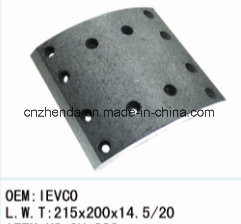 Iveco 8 Heavy Duty Truck Brake Lining pictures & photos