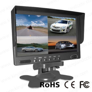 7inches 4 Chanels Quad Backup Monitor