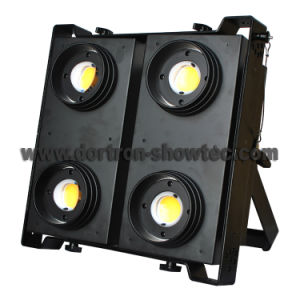 LED Blinder 4 Light Outdoor 4X100W Warm White