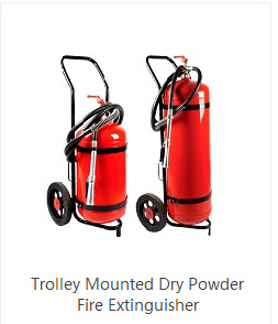 100kg Abc Trolley Fire Extinguisher pictures & photos
