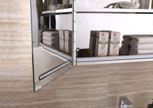 Customized Design Hotel Side Mirror Cabinet with LED pictures & photos