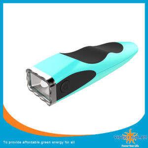 Rechargeable Solar Torch in LED Flashlight (SZYL-ST-205) pictures & photos