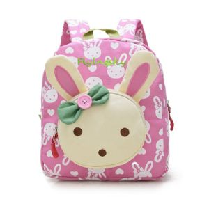 Rabbit Animals Kids Student Book Baby Girls School Bag Backpack pictures & photos