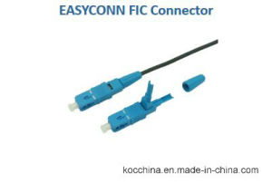 Fiber Optic Sc Sm Easyconn Fic Connector pictures & photos