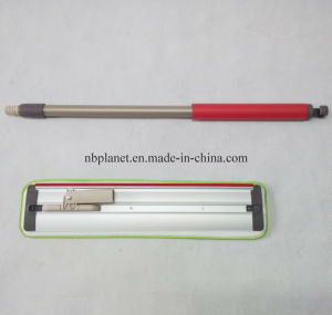 Aluminum Board Flat Microfiber Mop with Movable Handle - New Design pictures & photos