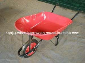 Solid Wheel, Spray Tray Wheel Barrow (WB7500) pictures & photos