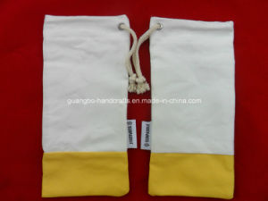 Custom Cheap Plain Drawstring Sunglasses Pouches pictures & photos