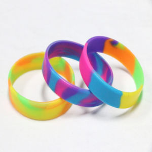 High Quality Multicolor Silicone Bracelet