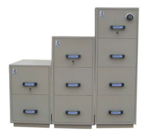 UL Certified Fire-Resistant Filing Cabinet (UL750FRD-II-2001) pictures & photos
