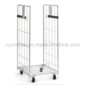 Double Sides Airport Folding Aircraft Baggage Carry Airline Luggage Trolley Roll Cart pictures & photos