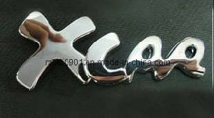 Car Label-Car Emblem China Factory Supply Custom Metal Car Label Badge Emblem