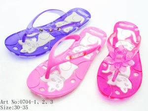 Children′s PVC Slipper (0704)