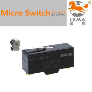 15A 250V Micro Limit Switch Z15-Gl2-B pictures & photos