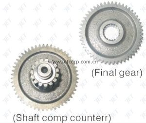 Final Gear & Shaft Comp.  (152QMI-002)