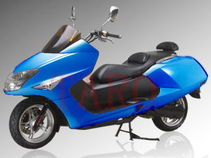 Cruiser Gas Scooter (Blue) (HY150T-A)