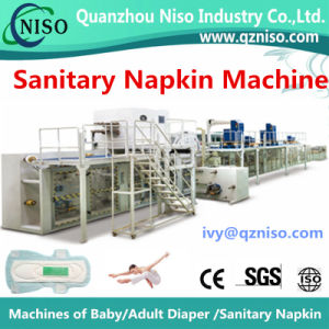 Supplier of Full-Automatic Sanitary Napkin Machinery Manufacture From China (HY800-SV) pictures & photos