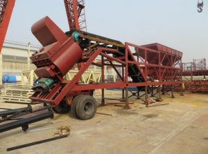 Yhzs30 Mobile Concrete Batching Plant pictures & photos