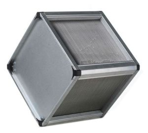 Built-in Static Crossflow Plate Heat Exchanger, HVAC Ventilation (HBS-ZF300/300~1200/1200)