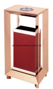 Hot Selling Hotel Stainess Steel Dustbin (DK62) pictures & photos