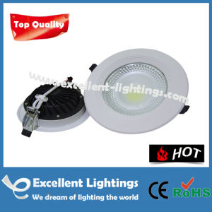 Exquisite Fashionable Pure White 10 Inch LED Downlight