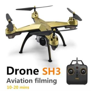 2018 Sh3 Drone with Camera Altitude Hold Headless Mode Outdoor Quadcopter  20 Mins Long Fly Time