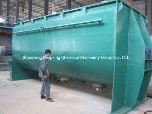 500L-35000L Carbon Steel Stainless Steel 304/321/316L Dry Powder Horizontal Ribbon Blender Mixer