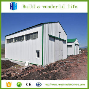 Prefabricated Low Cost Factory Workshop Steel Garage Building China ...