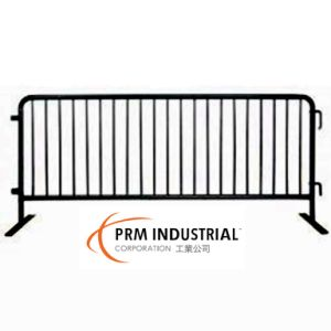 8′ Crowdmaster Barricade Flat Feet Black Color Traffic Fence pictures & photos