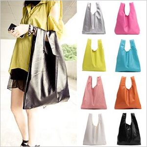 PU Lady Tote Shopping Bag (KLL1205-9)