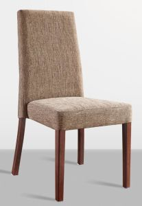 China Modern Simple Design Wood Grain Aluminum High Back Dining Chair China Chair Dining Chair