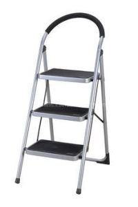 Steel Steps Ladder with Ce