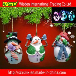 China Christmas Decoration Snowman Polymer Clay Craft Gifts Ornament - China Christmas Decoration, LED Light Snowman Ornament