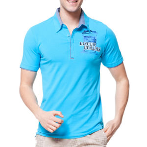 2014 Latest Fashion Polyester Men′s Sport Polo Shirt (T001) pictures & photos