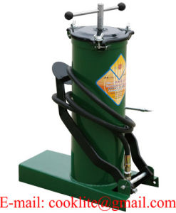 High Pressure Equipment Portable Foot Grease Pump Lubrication Bucket - 6L pictures & photos