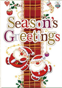 New Design Christmas Greeting Cards (CB20-006)