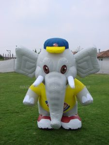 Inflatable Cartoon Mascot Elephant (K6008) pictures & photos
