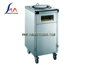 Plate Warmer Cart/ Electric Dish Warmer (One Column, all stainless steel or wood & stainless steel) pictures & photos