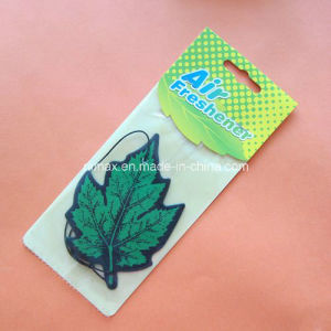 Long Scents Leafs Air Freshener Paper with Card Header