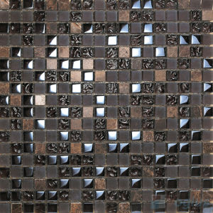 Mixed Rough Frosted Gl Mosaic Tile