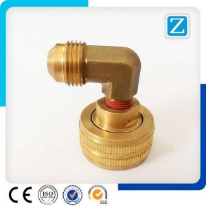 Hot Forging CNC Machining Brass Elbow Parts