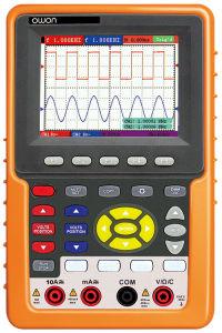 china owon 20mhz handheld digital oscilloscope with multimeter