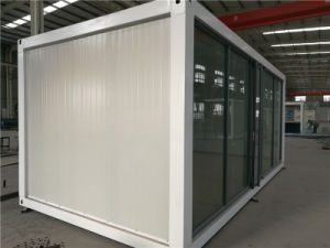 Toughened Glass Wall New Style 20feet Container House for Coffee Shop pictures & photos