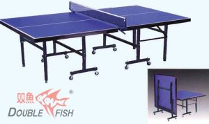 Double Fish 201d Folding Movable Indoor Table