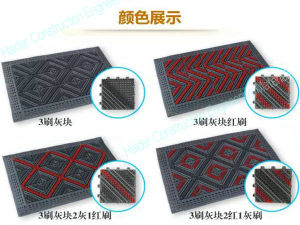 Interlocking Entrance Matting System for Commercial Places pictures & photos