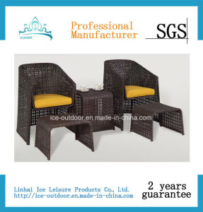 Outdoor Furniture Garden Furniture Foldable Rattan Dining Table Chair (FD-034I)