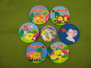 All Sorts of Design Soft PVC Coasters